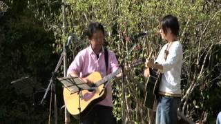 2012.4.15 安芸市内原野つつじ祭りコンサート 豆電球と小松亜里沙さんの...