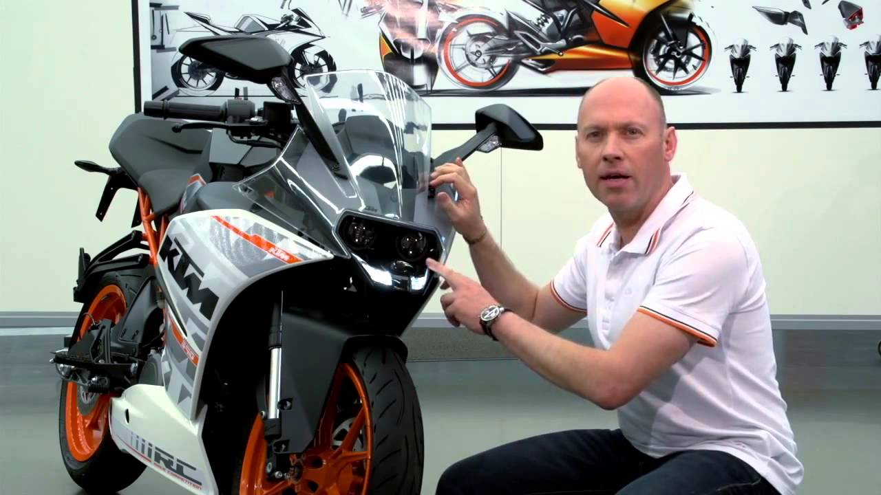ktm rc 390 first look review - features and benefits - youtube