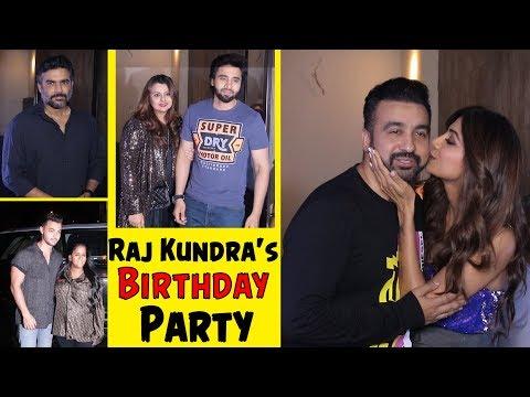 Shilpa Shetty Host Husband Raj Kundra's Birthday Party | R. Madhavan, Aayush, Arpita And Many More Mp3