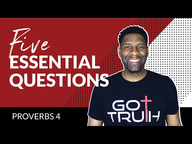 5 ESSENTIAL Questions Every Christian Should ask Themselves EVERY Day!