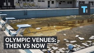 Olympic venues: Then vs Now