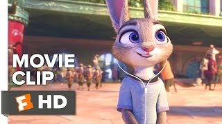 Zootopia Movie CLIP - Arriving (2016) - Ginnifer Goodwin, J.K. Simmons Movie HD