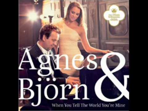 Björn Skifs & Agnes - When You Tell The World You're Mine  STUDIO VERSION