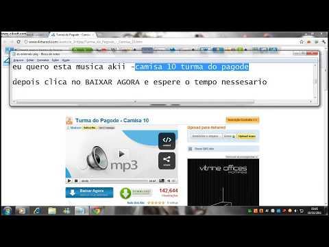 ENSINANDO A BAIXAR MUSICA PELO 4 SHARED