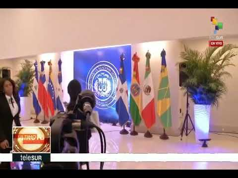 Jorge Rodríguez y Julio Borges desde mesas de diálogo en Santo Domingo, 13 enero 2018
