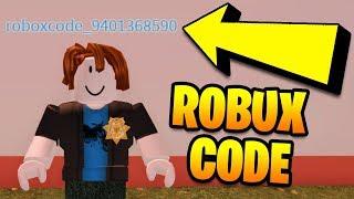 I put a FREE ROBUX CODE in my Roblox Jailbreak Name! (Roblox Jailbreak)
