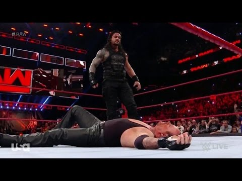 live reaction wwe raw the undertaker appears march 20 2017