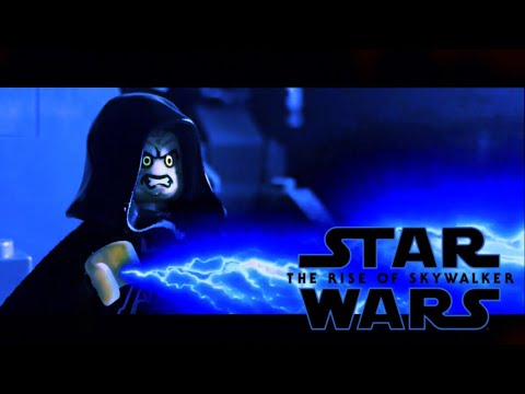 Lego Star Wars The Rise Of Skywalker Palpatine S Death Scene Youtube