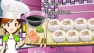 Сара готовит роллы - игра на приготовление еды
