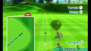 let s play wii sports resort with tyler and lukas golf part 1
