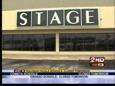 Stage Store Roof Collapse