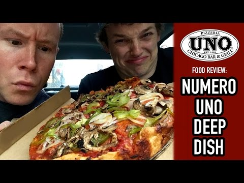 Food Review Of Pizzeria Uno Deep Dish In Downtown Chicago