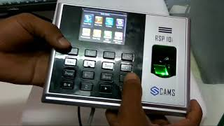 How to integrate biometric attendance machine with web application