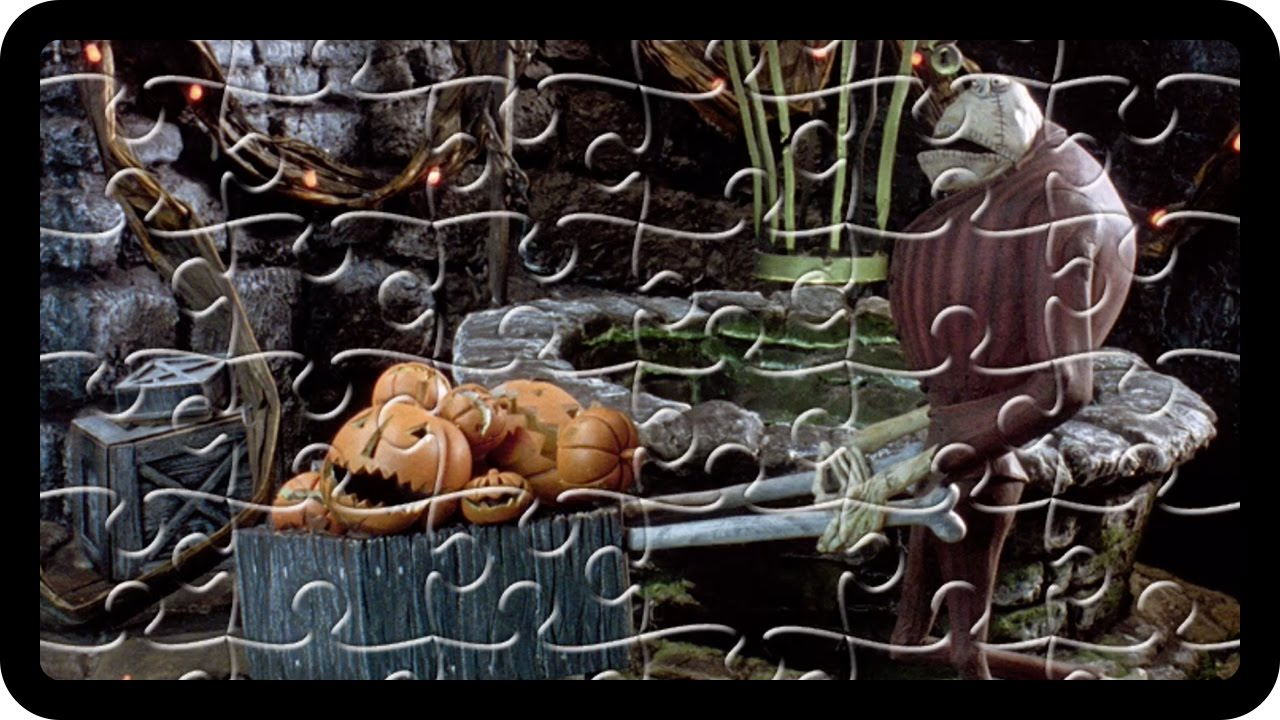Nightmare before Christmas Jigsaw Puzzle - Daddy Finger Family ...