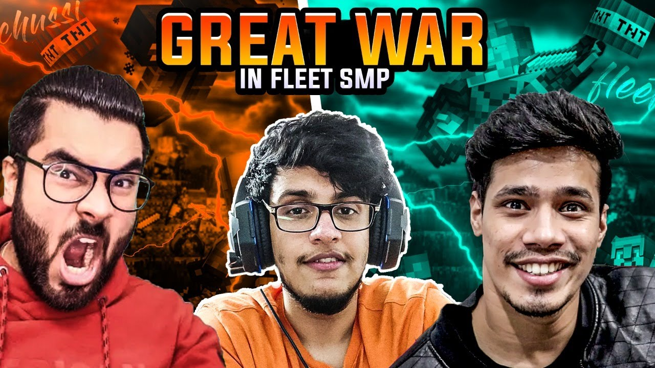 Download The Great War For Fleet SMP | Day #80