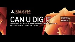 KMS 164 CAN U DIG IT - House of Virus & Dany Cohiba