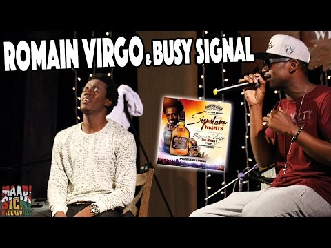 Romain Virgo & Busy Signal in Kingston, Jamaica @ Signature