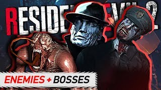 Resident Evil 2 Remake - ENEMIES & BOSSES Guide (Who's Returning?)