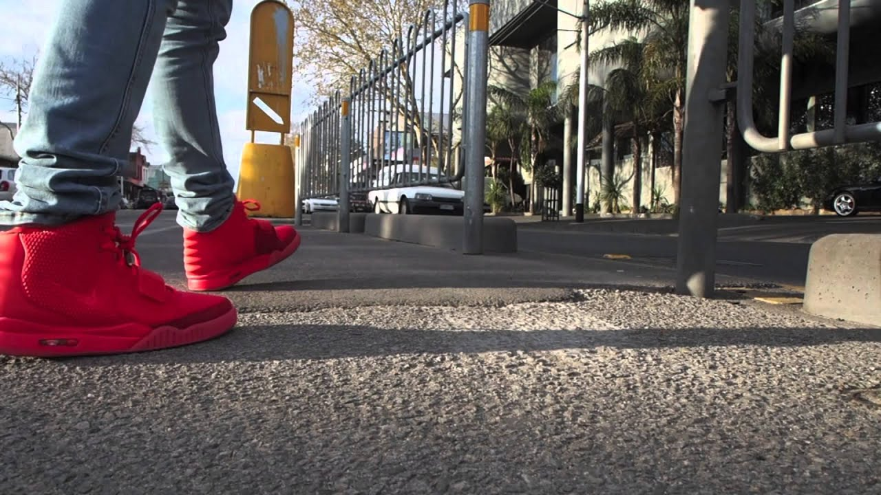 Air Yeezy 2 Red October On Feet Review AUTHENTIC! ENJOY ...