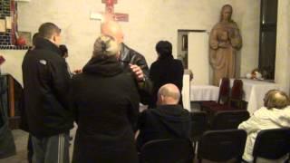 Artur Ceroński-MODLITWA O LUDZI(Jaworzno,parafia katolicka,14.11.2013r.)