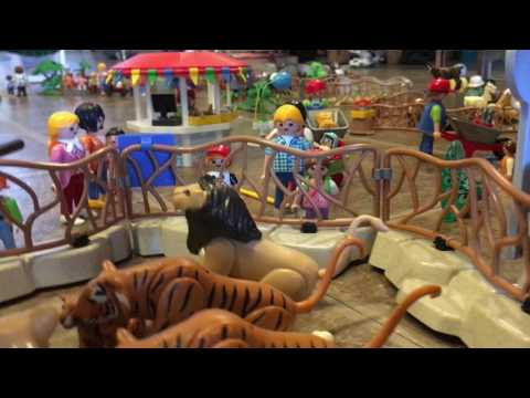 Family fun at the Playmobil Zoo