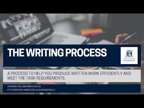 The Research to Writing Process