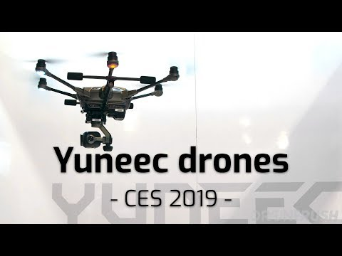 Yuneec at CES 2019