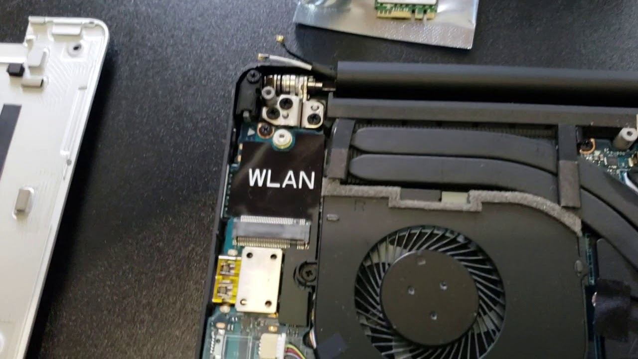 How to replace the Killer WiFi card with an Intel WiFi card on the Dell XPS  9570