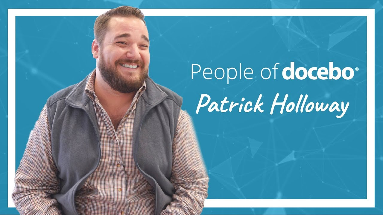 People of Docebo | Patrick Holloway