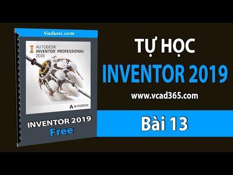 Giáo trình Inventor 2019 | Bài 13 | Hướng Dẫn Lệnh Shell trong Inventor 2019