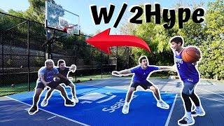 Twins Play EPIC 2v2 Game w/ 2HYPE Ft. Jesser & ZackTTG | Randall Twins