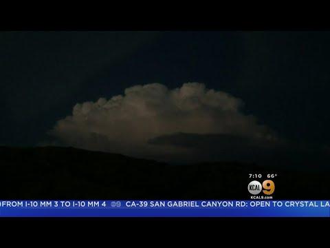 Dramatic Video Captures Rapid Lightening Strikes In Santa Clarita Valley