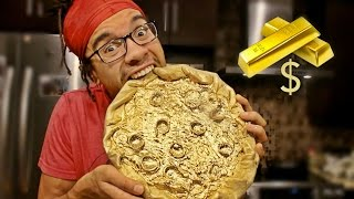 DIY GOLD PIZZA TASTE TEST by : Roary Raynor