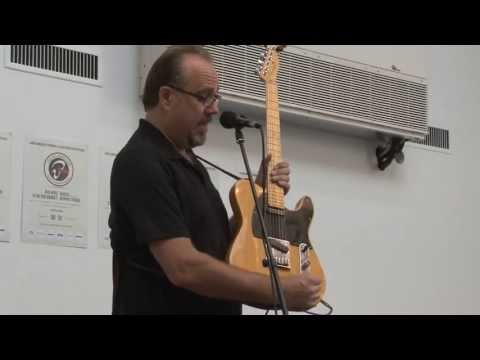 Greg Koch clinic at Copenhagen Guitar Show 2013