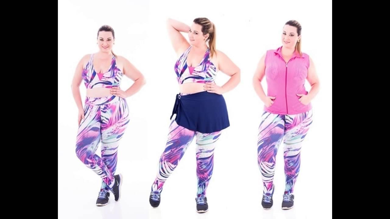 b22b4ac73 Roupa Feminina de Academia Para Plus Size Usar. Vestidos Plus Size