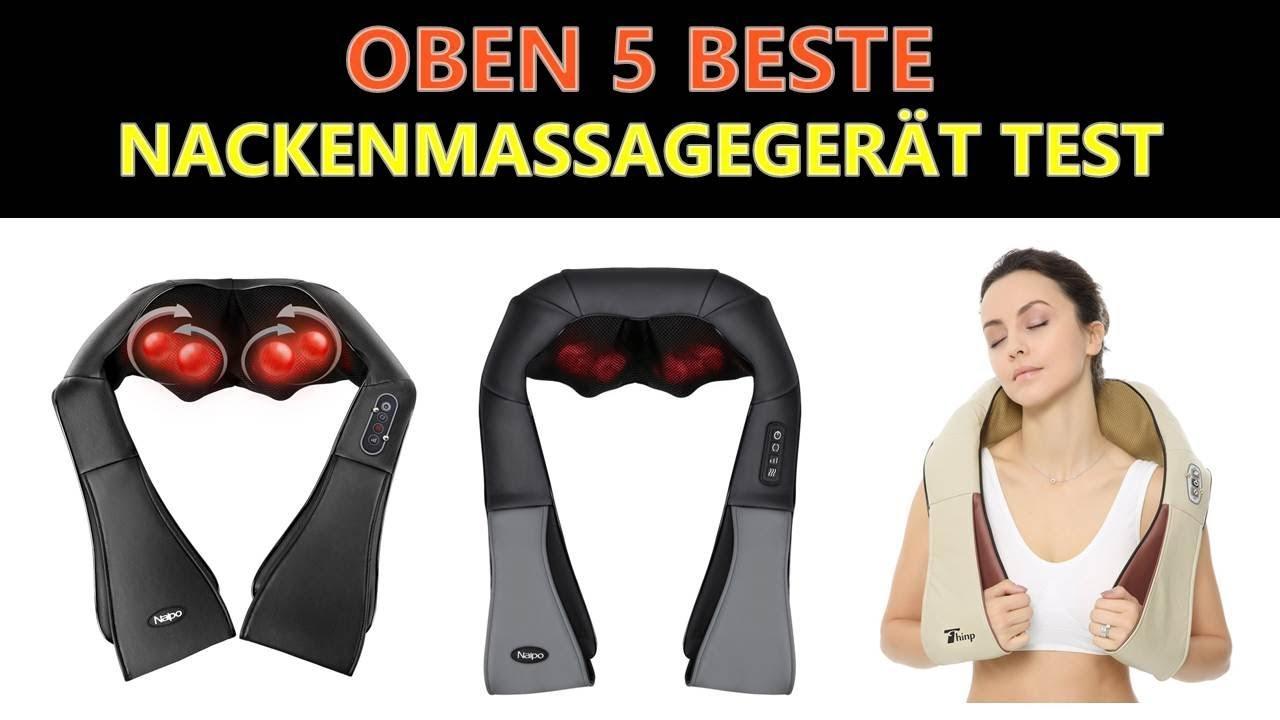 Beste Nackenmassagegerät Test 2019 Youtube