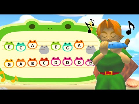 ALL 12 Ocarina of Time Songs in Animal Crossing New Horizons