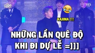 [BTS Funny moments #62] Embarrassing moments at the awards ceremonies =)))))