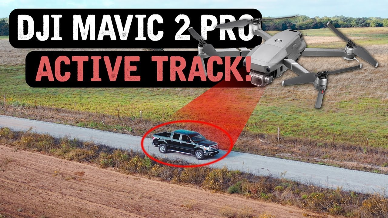 DJI Mavic 2 Pro / ACTIVE TRACK! (Tutorial)