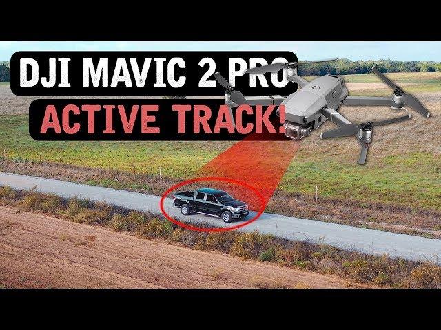 DJI Mavic 2 Pro / ACTIVE TRACK! (Tutorial)