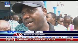 Stephen Keshi Laid To Rest, As Eguavoen Decries Absence Of Top Govt Officials