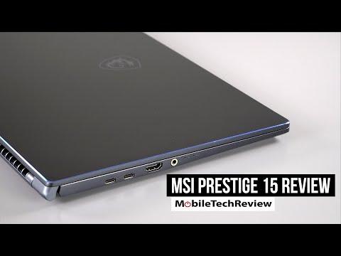 MSI Prestige 15 Review