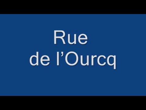 Rue de l'Ourcq Paris Arrondissement  19e