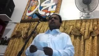 De Tabassum ki khairaat Mahol ko by Zia Mufti