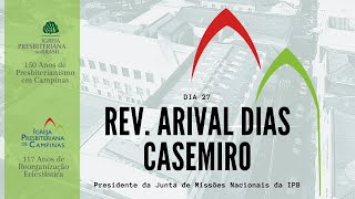 Palavra do Rev. Arival Dias Casemiro