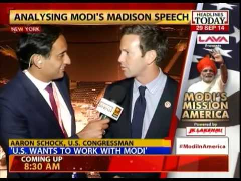 US made a huge mistake by denying visa to Narendra Modi: Aaron Shock