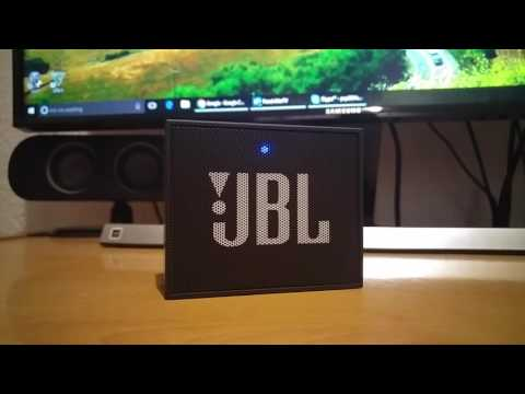 JBL GO - Sound test - Small yet powerful
