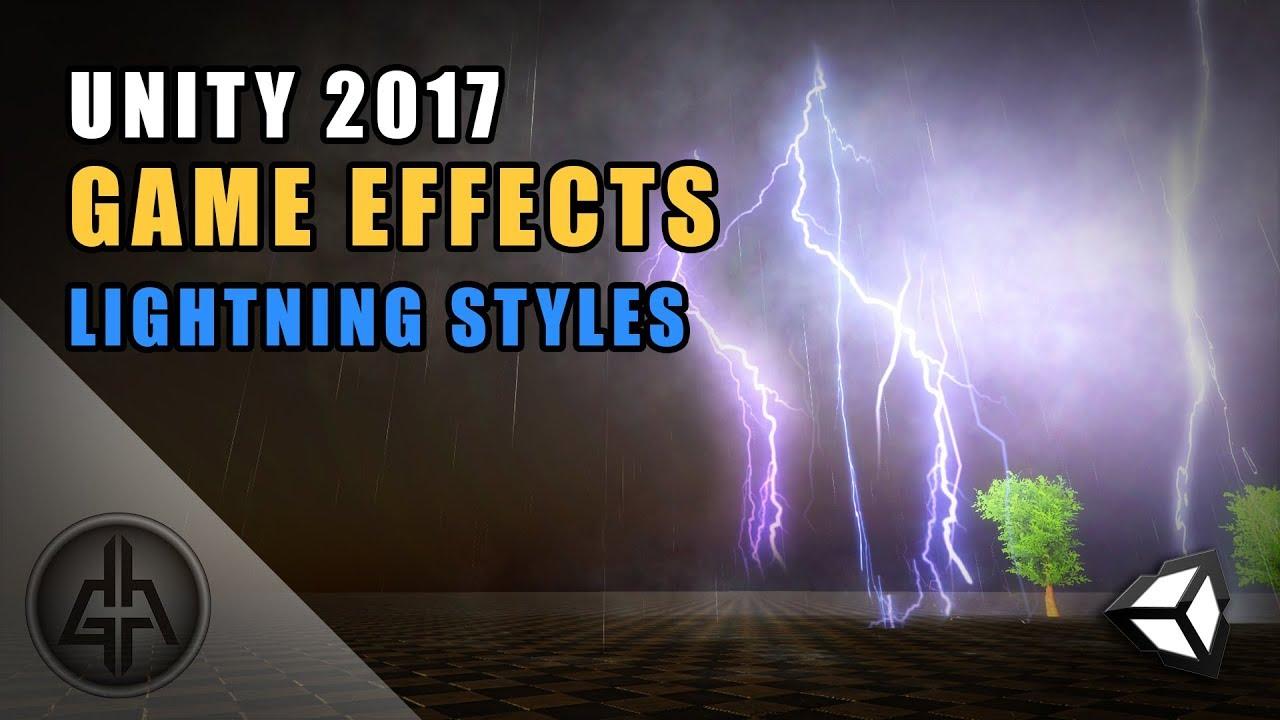 ArtStation - Unity Game VFX - Lightning and Thunder Effect