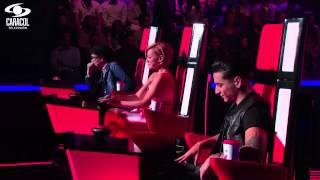 Alejandra cantó 'Veo veo' de S. Mellino– LVK Colombia – Audiciones a ciegas – T1