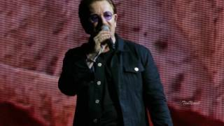 """U2 """"With Or Without You"""" (Live, 4K, HQ Audio) / Firstenergy Stadium, Cleveland / July 1st, 2017"""